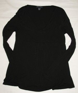 Banana Republic Stretch Knit Shirt Women's M - Medium