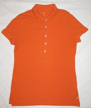 J. Crew Classic Pique Polo Shirt Women's M - Medium