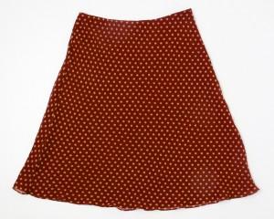 Ann Taylor Silk Skirt Women's 4