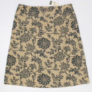 New Eddie Bauer Floral Print Skirt Women's 12