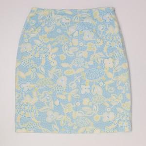Talbots Print Skirt Women's 4