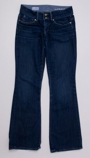 Gap 1969 Perfect Boot Jeans Women's 25/0p - Petite