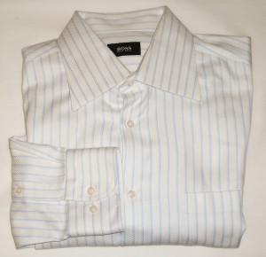 Boss by Hugo Boss Multi-Colored Shirt 16.5, 34/35