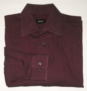 Boss by Hugo Boss Maroon Shirt - 16.5