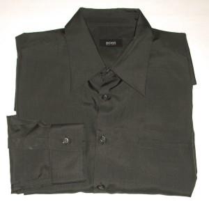Boss by Hugo Boss Deep Green Shirt - 17.5