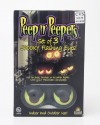 Mystic Peep n' Peepers Set of 3 Spooky Flashing Eyes Halloween Lights
