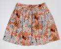Max Studio Floral Skirt Women's L - Large