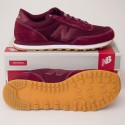 New Balance Men's Ballistic 501 Classic Running Shoe ML501UBG Burgundy