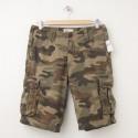 """NEW Gap Camo Cargo Shorts in Green Camo (11"""")"""