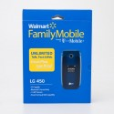 Walmart Family Mobile by TMobile Pre-Paid No Contract LG 450 Flip Phone