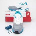 New Balance Men's 530 Bionic Boom Running Shoes M530RTC in White/Steel/Blue Atoll
