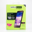 Simple Mobile by T-Mobile LG Rebel 4 LTE Prepaid Smartphone