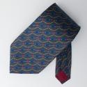 Hardy Ames Printed Silk Tie