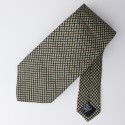 Boss by Hugo Boss Woven Silk Geometric Tie
