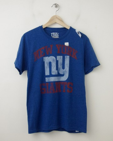 NEW Gap True Vintage NY Giants Graphic Tee T-Shirt in Liberty Heather
