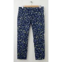 NEW Gap Slim Cropped Pants in Animal Print