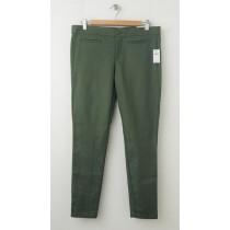 NEW Gap Super Skinny Jacquard Pants in Desert Cactus