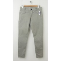 NEW Gap Super Skinny Twill Pants in Grey Suede