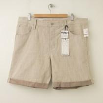 NEW Gap 1969 Summer Slim Denim Shorts in Brown