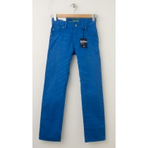 NEW Gap Boy's 1969 Action Stretch Straight Jeans in Blue