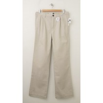 GapKids Boy's GapShield Easy Fit Pleated Pant in Classic Stone