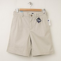 GapKids Boy's GapShield Easy Fit Pleated Short in Classic Stone