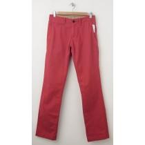 NEW Gap Men's Lived-In Slim Khaki Pants in Faded Red