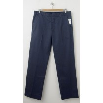 NEW Gap Straight Fit Tailored Pants in Blue Heather