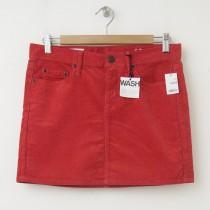 NEW 1969 Gap Cord Mini Skirt in Cheer