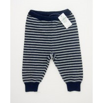 NEW babyGap Striped Navy Sweater Pants in Blue Galaxy