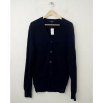 NEW Gap Cotton Cardigan Sweater in Deep True Navy