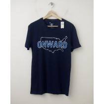 NEW Gap G Tee Onward Graphic T-Shirt in Navy