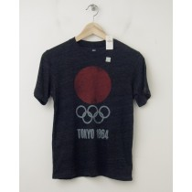 NEW GapKids Summer Olympics Tokyo 1964 Graphic Tee T-Shirt in Grey
