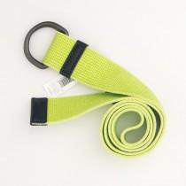 NEW Gap Men's Washed Webbing D-Ring Belt in Green Thumb
