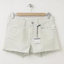 NEW Gap 1969 Stud Raw-Edge Maddie Slim Cut-Off Denim Shorts in Spring Mint