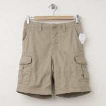 GapKids Boy's GapShield Uniform Cargo Shorts in Cargo Khaki