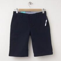 "NEW GapKids Girl's Uniform Skinny Stretch Bermuda Shorts (8"") in Deep True Navy"