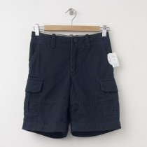 GapKids Boy's GapShield Uniform Cargo Shorts in True Navy