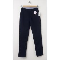 NEW GapKids Girl's GapShield Uniform Straight Khaki Pants in Deep True Navy