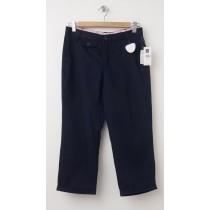 NEW GapKids Girl's Uniform Capri Pants in True Navy