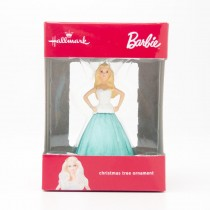 Hallmark Barbie Christmas Tree Ornament 2016