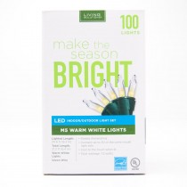 Living Solutions LED Indoor/Outdoor Light Set 100 M5 Warm White Lights