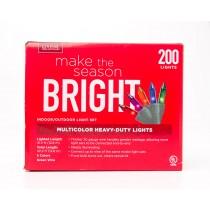 Living Solutions Multicolor Heavy-Duty Lights 200 Lights