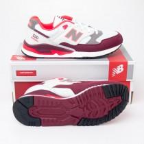 New Balance Men's 530 Remix Running Shoes M530AAA in White/Burgundy/Orange