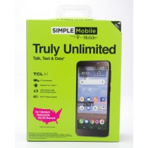 Simple Mobile by T-Mobile Alcatel TCL A1 Prepaid Smartphone
