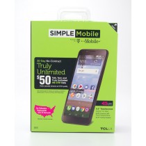 Simple Mobile by T-Mobile Alcatel TCL LX Prepaid Smartphone