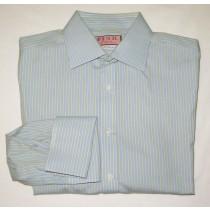 Thomas Pink Striped Dress Shirt Men's 16 31.5