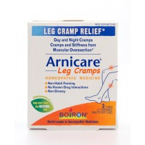Boiron Arnicare Leg Cramps 3 Tubes (11 Chewable Tablets per Tube)