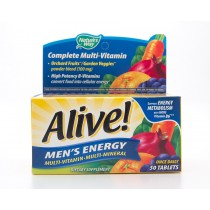 Nature's Way Alive! Complete Multi-Vitamin Men's Energy 50 Tablets