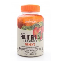 One-A-Day Natural Fruit Bites Women's Multivitamin Dietary Supplement 60 Bites